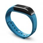 Bluetooth fitness náramok CellularLine EASYFIT, modro-čierny OBAL