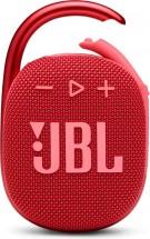 Bluetooth reproduktor JBL Clip 4, červený