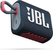 Bluetooth reproduktor JBL GO 3, ružovo-modrý