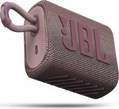 Bluetooth reproduktor JBL GO 3, ružový