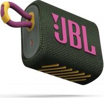 Bluetooth reproduktor JBL GO 3, zelený