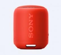Bluetooth reproduktor Sony SRS-XB12, červený