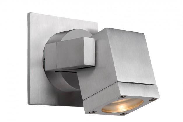 Bok - nástenné osvetlenie, 35W, GU10 (strieborná)