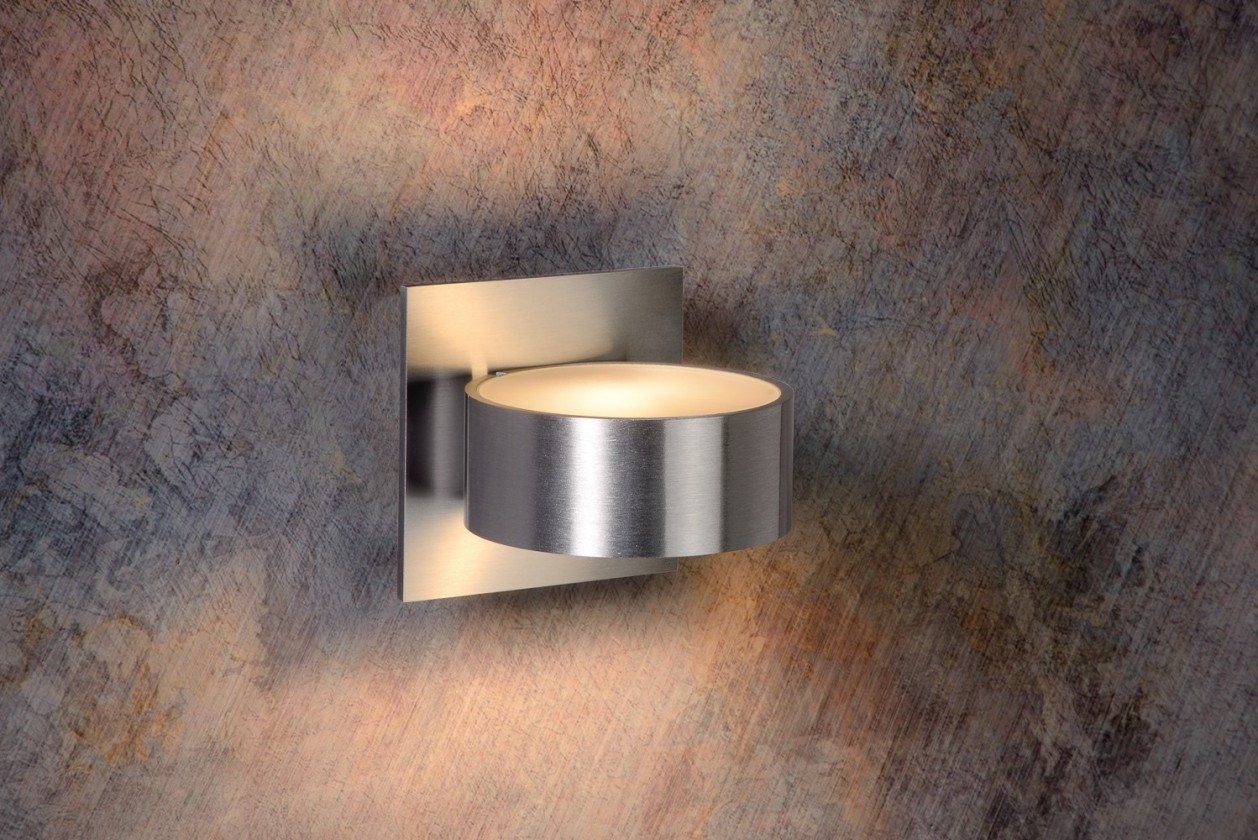 Bok - nástenné osvetlenie, 40W, G9, 11 cm (strieborná)