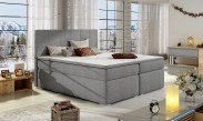 Bolero - Boxspring 160x200 cm, 2x matrace, drevené nohy