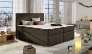 Bolero - Boxspring 180x200 cm, 2x matrace, drevené nohy