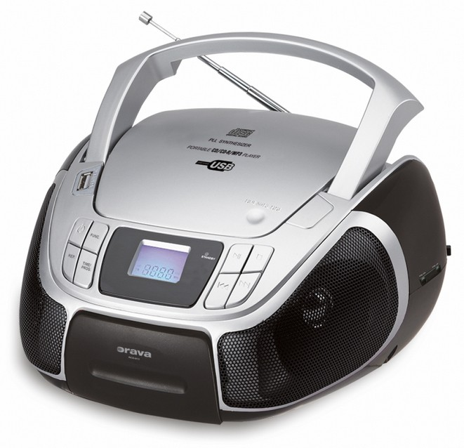 Boomboxy Rádiomagnetofón ORAVA RCD-811