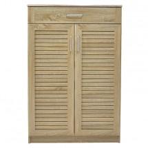 Botník Berri (2x dvere, 1x zásuvka, dub sonoma)