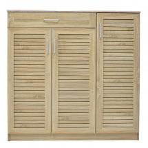 Botník Berri (3x dvere, 1x zásuvka, dub sonoma)