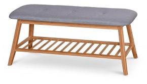 Botník Frontino (drevo, sivá)