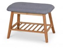 Botník Frontino mini (drevo, sivá)