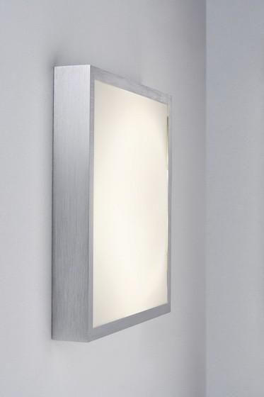 Bound - Nástenné svietidlá, led (kartáčovaný hliník)