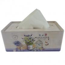 Box na vreckovky Lavender