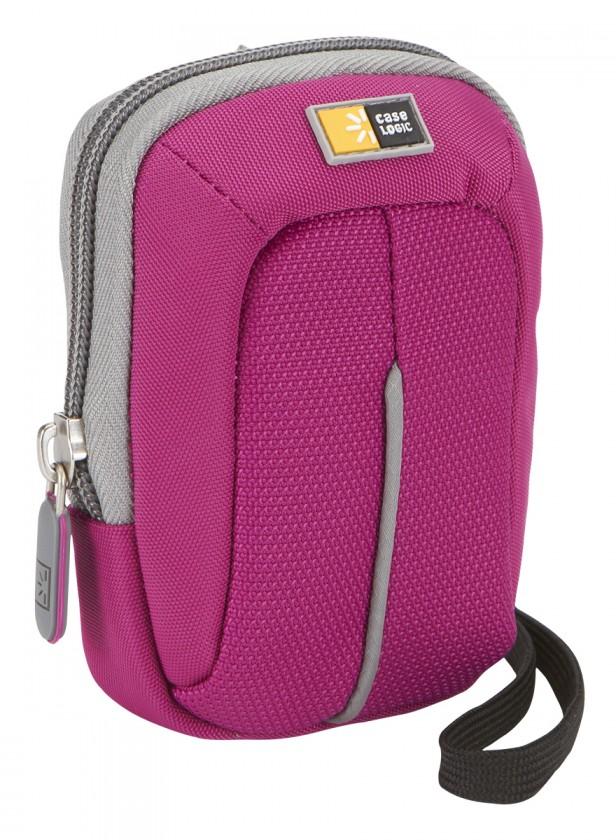 Brašne, ruksaky  CASELOGIC CL-DCB301P/pouzdro na fotoaparát překlapovací,Fialové