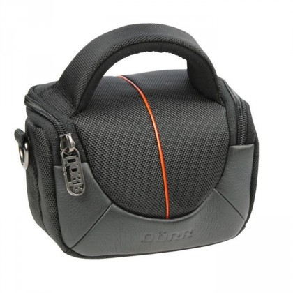 Brašne, ruksaky Doerr brašna Yuma Photo Bag XS black/orange