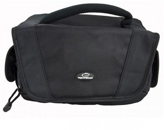 Brašne, ruksaky Esperanza ET157 Taška pre zrkadlovku a príslušenstvo čierna