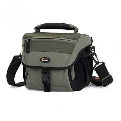 Brašne, ruksaky Lowepro Nova 160 AW - brašna (20 x 11 x 17) - Chestnut Brown