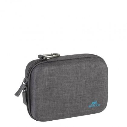 Brašne, ruksaky Tvrdené púzdro pre akčné kamery Riva Case 70x125x60mm, šedá