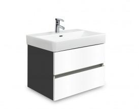 Brisbane - skriňa s umývadlom Laufen Pro S 55cm (antracit/biela)