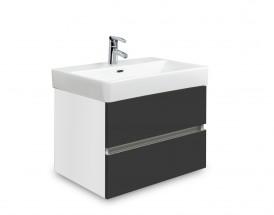 Brisbane - skriňa s umývadlom Laufen Pro S 55cm (biela/antracit)