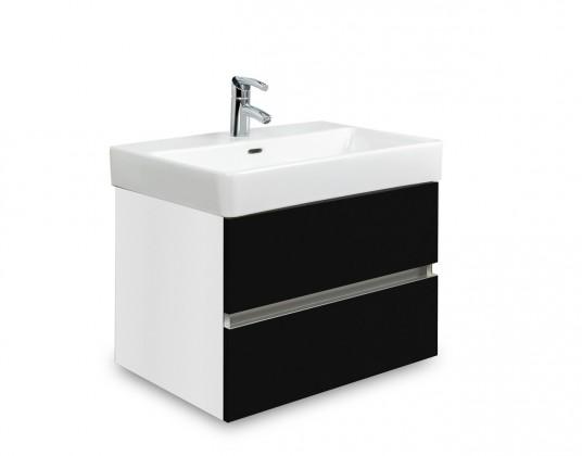 Brisbane - skriňa s umývadlom Laufen Pro S 55cm (biela/čierna)
