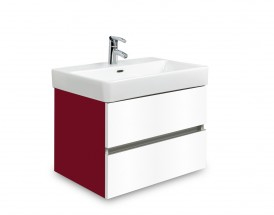 Brisbane - skriňa s umývadlom Laufen Pro S 55cm (bordó/biela)