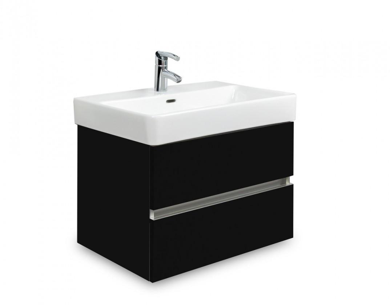 Brisbane - skriňa s umývadlom Laufen Pro S 55cm (čierna)