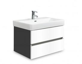 Brisbane - skriňa s umývadlom Laufen Pro S 60cm (antracit/biela)