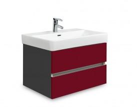 Brisbane - skriňa s umývadlom Laufen Pro S 60cm (antracit/bordó)