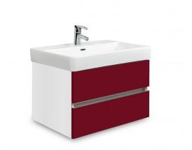 Brisbane - skriňa s umývadlom Laufen Pro S 60cm (biela/bordó)