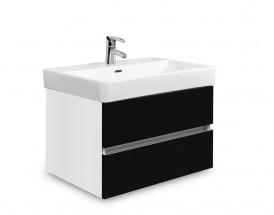 Brisbane - skriňa s umývadlom Laufen Pro S 60cm (biela/čierna)