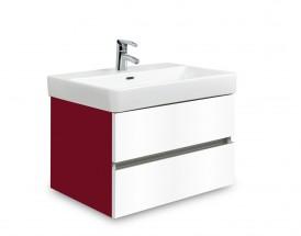 Brisbane - skriňa s umývadlom Laufen Pro S 60cm (bordó/biela)