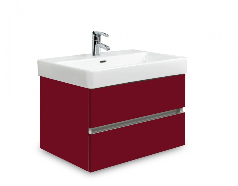 Brisbane - skriňa s umývadlom Laufen Pro S 60cm (bordó)