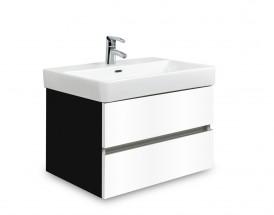 Brisbane - skriňa s umývadlom Laufen Pro S 60cm (čierna/biela)