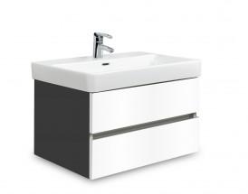 Brisbane - skriňa s umývadlom Laufen Pro S 65cm (antracit/biela)