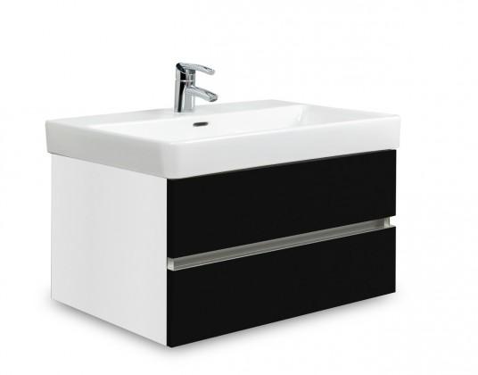 Brisbane - skriňa s umývadlom Laufen Pro S 70cm (biela/čierna)