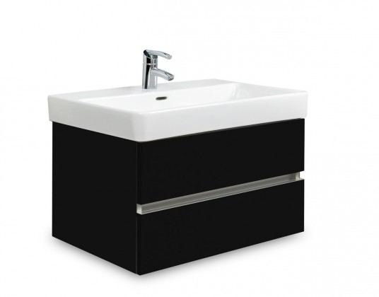 Brisbane - skriňa s umývadlom Laufen Pro S 70cm (čierna)
