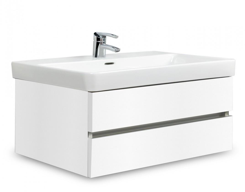 Brisbane - skriňa s umývadlom Laufen Pro S 85cm (biela)