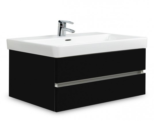 Brisbane - skriňa s umývadlom Laufen Pro S 85cm (čierna)