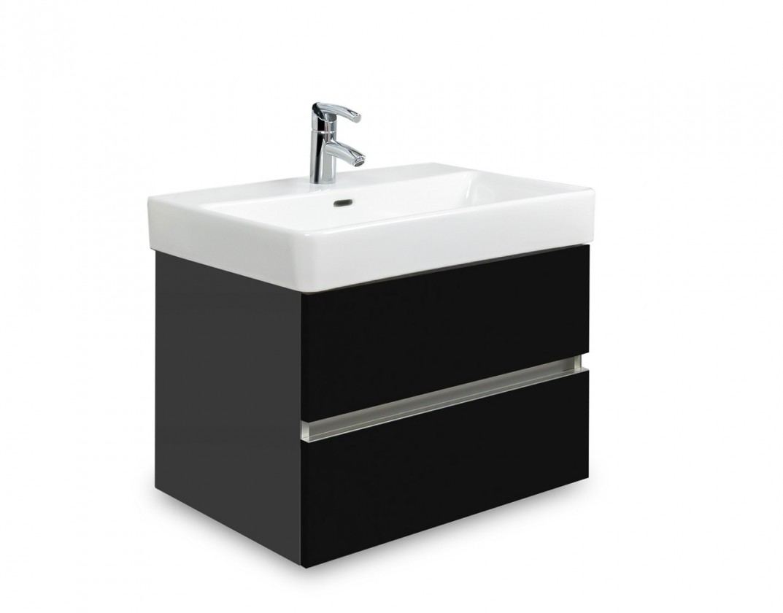 Brisbane - skriňa s umývadlom LaufenPro S 55cm (antracit/čierna)