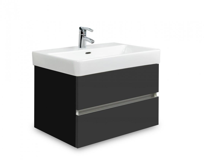 Brisbane - skriňa s umývadlom LaufenPro S 60cm (čierna/antracit)