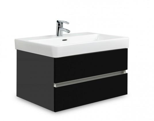 Brisbane - skriňa s umývadlom LaufenPro S 70cm (antracit/čierna)