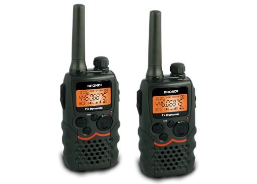 Brondi FX-Dynamic TWIN/ PMR vysílačky/ 8 kanálů/ Dosah 12km