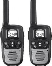Brondi PMR vysielačky FX-390 TWIN strieborná/čierná