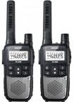 Brondi PMR vysílačky FX-490 TWIN stříbrná/černá