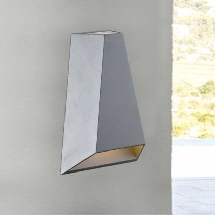 Brook - Nástenné svietidlo, LED (sivá)
