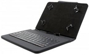 """C-TECH PROTECT puzdro s klávesnicou 7 """"-7,85"""" NUTKC-01, čierne"""