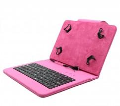 """C-TECH PROTECT puzdro s klávesnicou 7 """"-7,85"""" NUTKC-01, ružové"""