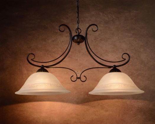 Calabre - stropné osvetlenie, 24W, 2xE27 (bronzová)