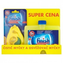 CALGONIT FINISH ČISTIČ MYČKY LEMON 250ML + DEO LEMON